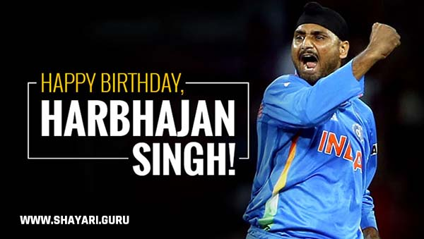 Happy Birthday Harbhajan Singh